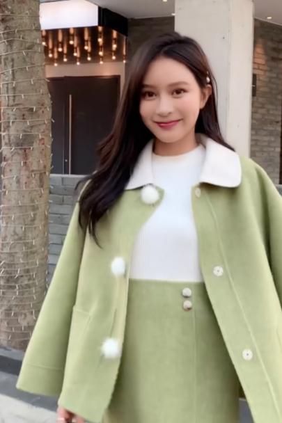 模特十七 服装街拍视频
