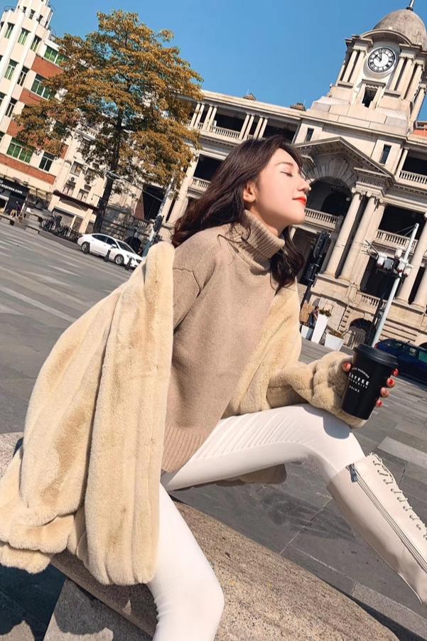研一 貂毛外套拍摄 冬装外套拍摄 毛绒外套拍摄  貂绒外套拍摄