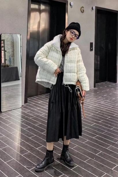 宝六 外套拍摄 妮子外套拍摄 羽绒服拍摄 棉服拍摄拍照 冬装外套拍摄