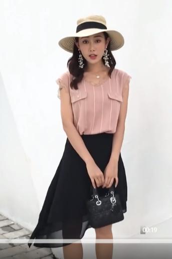模特小白 - 半身裙 30秒淘宝主图视频拍摄
