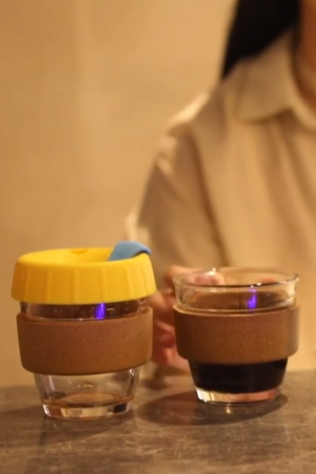 咖啡杯短视频拍摄 淘宝主图视频拍摄 杯子水杯保温杯视频拍摄