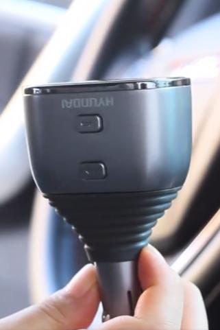 北斗-车载充电器主图视频拍摄