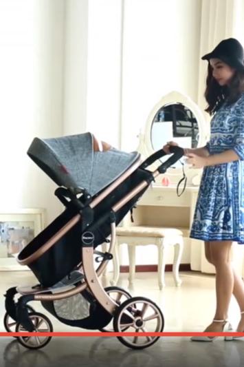 北斗-宝宝好婴儿车安装视频拍摄