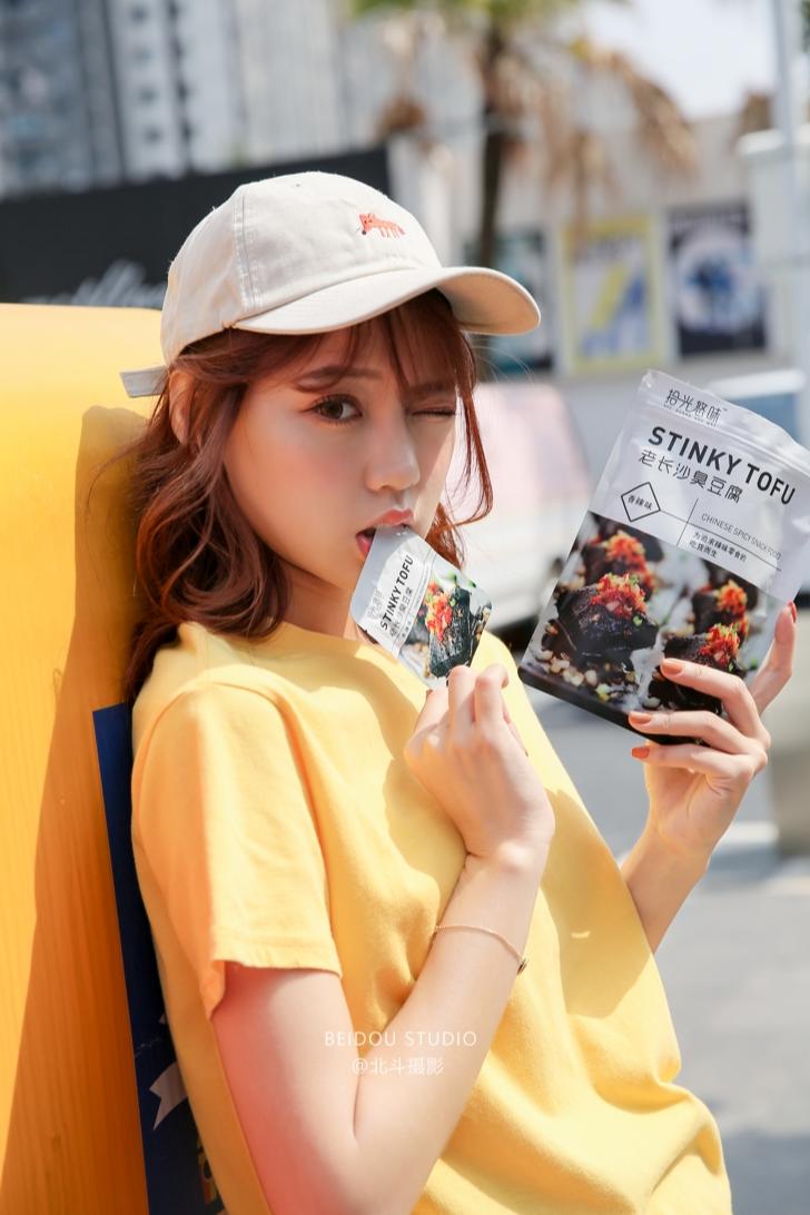 静静 食品拍摄 产品模特拍摄  广州摄影公司 服装拍摄  淘宝拍摄