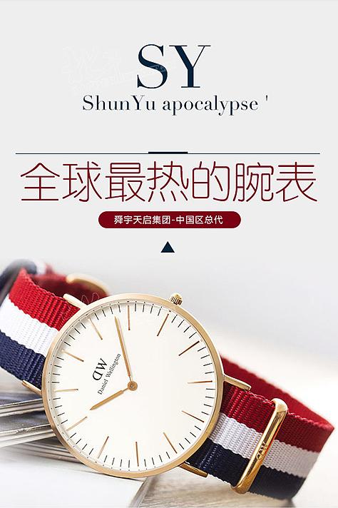 手表详情页设计