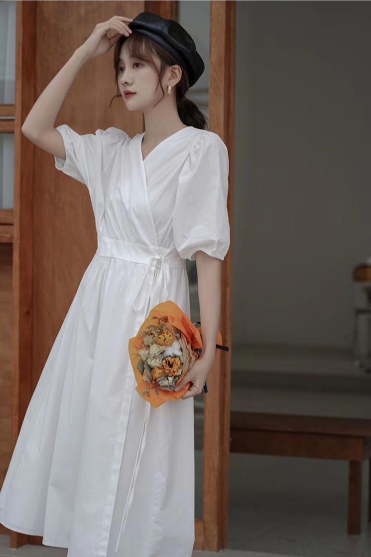羊羊 复古女装 复古连衣裙