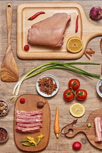 黑猪猪肉拍摄 肉类产品拍摄 生鲜猪蹄拍摄