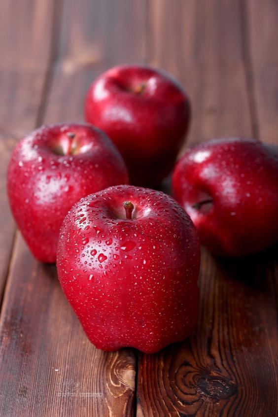 水果场景拍摄-椰果、苹果、芒果、橘子水果拍摄