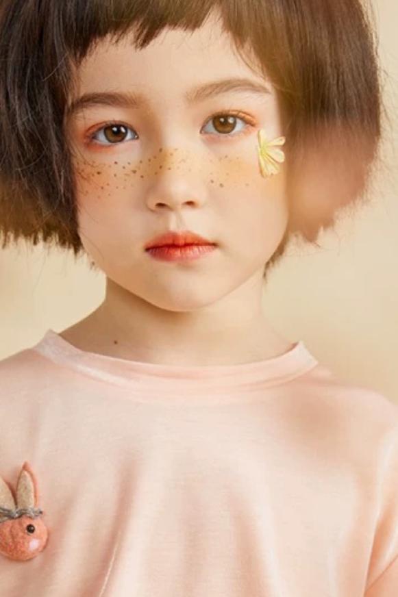 100-119女童-外籍 儿童模特合集