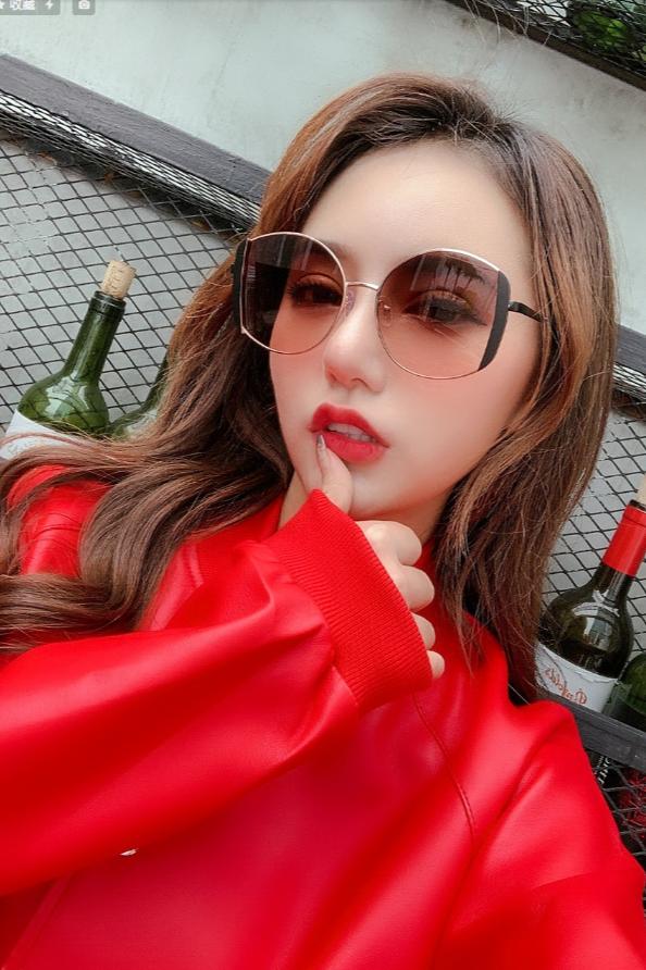 模特菜头 眼镜拍摄 太阳镜拍摄 墨镜拍摄