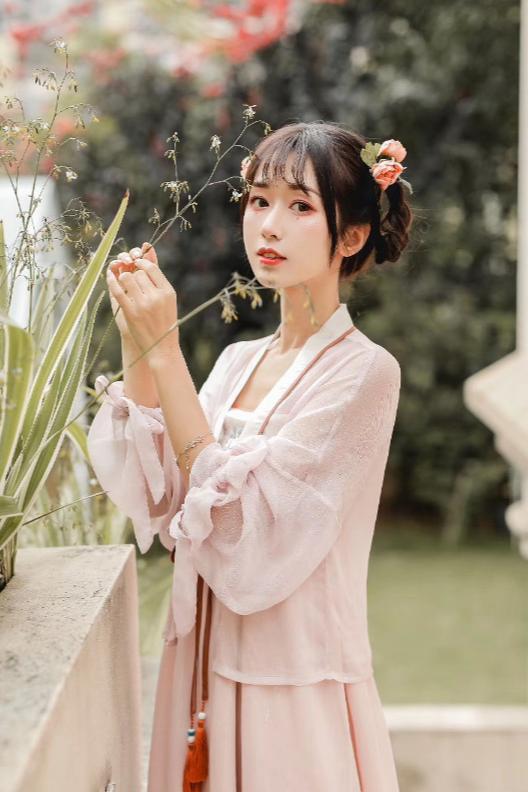 中式旗袍改良现代旗袍中式汉服模特拍摄拍照