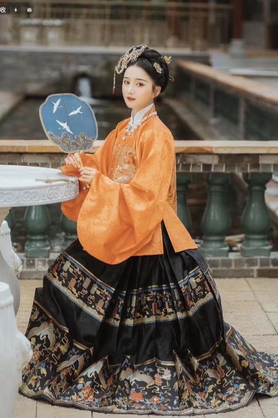 汉服唐装古装古代旗袍衣服连衣裙拍摄模特拍摄