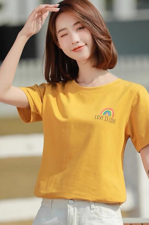 模特小忆 T恤拍摄